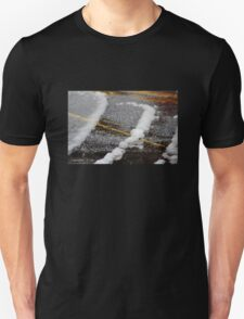 Remnants of a Spring Snow Unisex T-Shirt