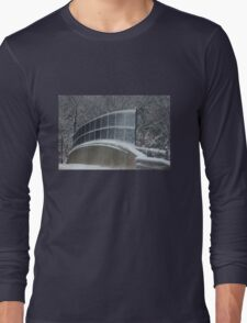 Winter Clings to Spring Long Sleeve T-Shirt