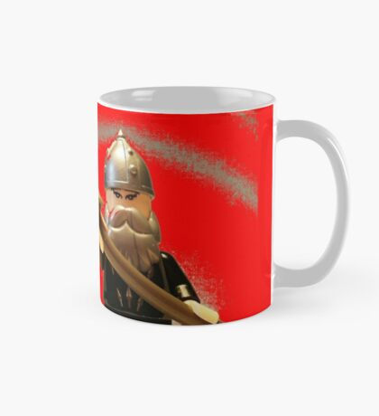 Mongolian Warrior Chief Custom Minifig Mug