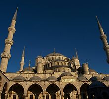 Sultan Ahmet Mosque in Istanbul by Jens Helmstedt