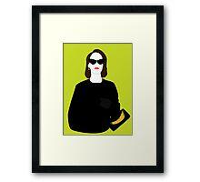 """Lana Banana"" Framed Print"