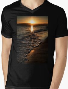 Twilight Seascape Mens V-Neck T-Shirt