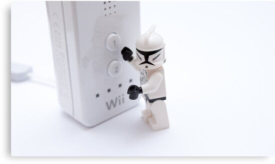 stormtroopers cant play on the wii by Jonathan Oakley