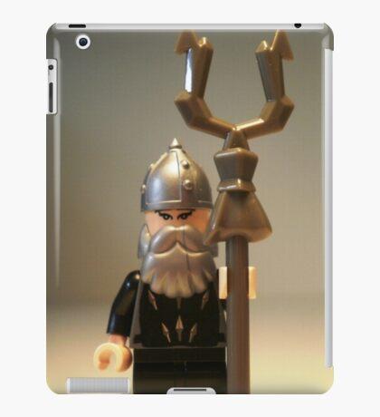 Mongolian Warrior Chief Custom Minifigure iPad Case/Skin