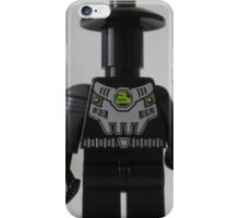 Custom Cyber Droid Shadow Soldier Minifig iPhone Case/Skin
