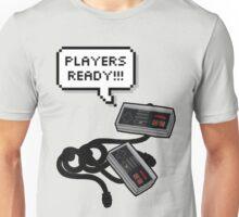 Lets play videogames Unisex T-Shirt