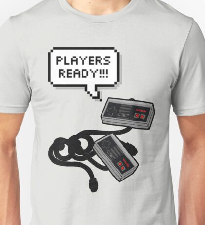 Lets play videogames Unisex T-Shirt