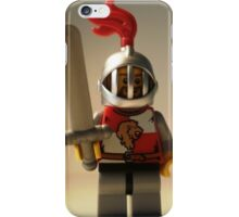 'Lion Knight Quarters' Minifig iPhone Case/Skin