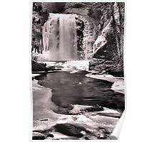 Tones of Winter - Looking Glass Poster