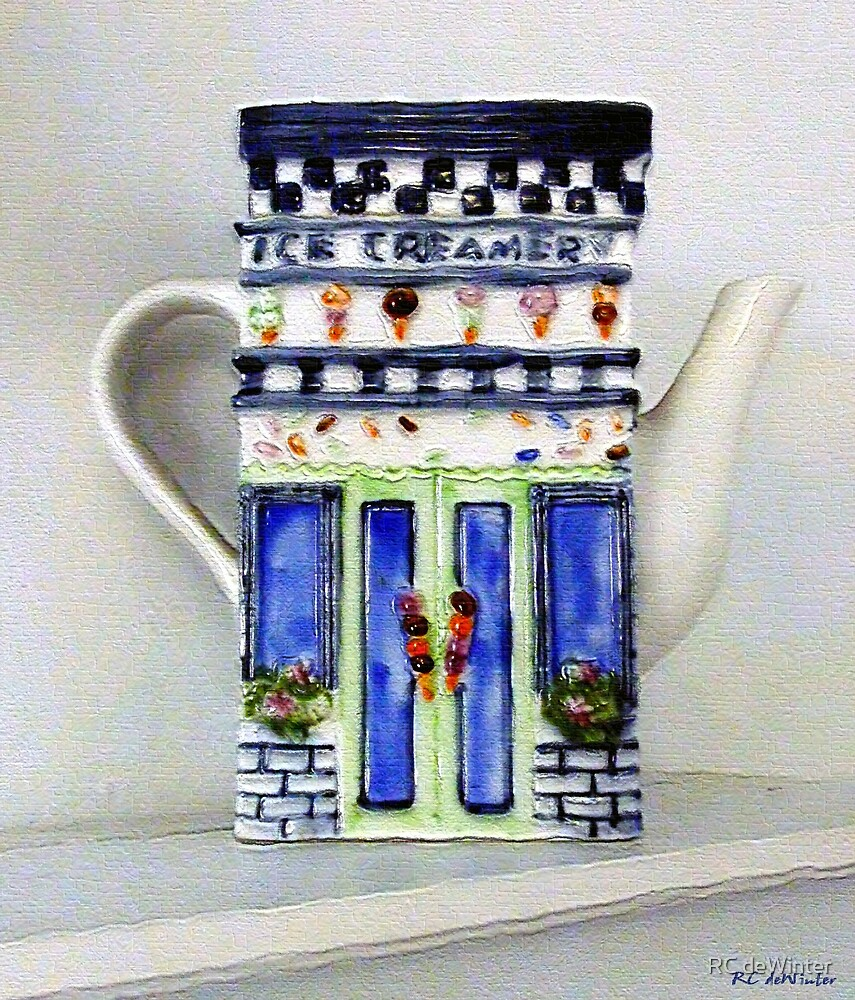 Teapot Delusional by RC deWinter