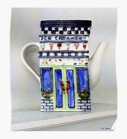 Teapot Delusional Poster