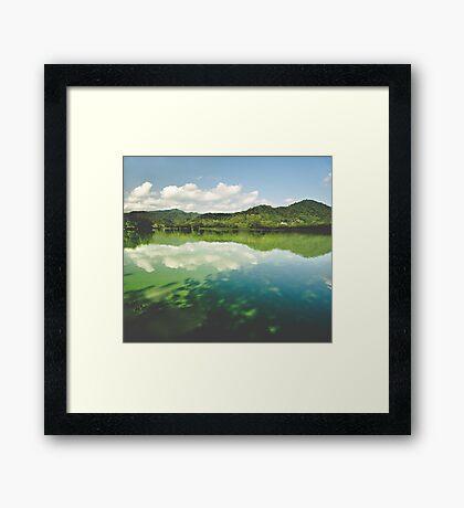 Perfect World Framed Print