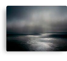 Atlantic Ocean Fog Canvas Print