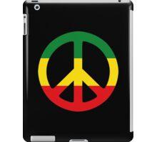 Peace - Rasta colours iPad Case/Skin