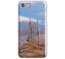 Last Remnants of Winter on the Beach iPhone Case/Skin