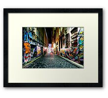Urban Gallery Framed Print