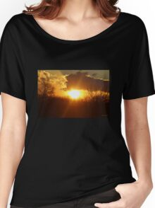 Heavenly Sunset Women's Relaxed Fit T-Shirt