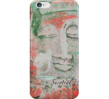 RED Chakra Buddha #1 iPhone Case/Skin