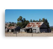 farmscapes #53, we're still standing Canvas Print
