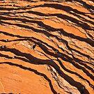 Striated Rocks by Nickolay Stanev