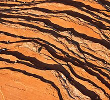 Striated Rocks by Nickolay Stanev