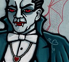Dracula, Vampire King of Hearts by pixbyr