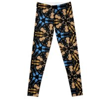 Music Instruments Pattern Leggings