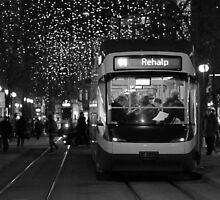 Zurich Tram by Emma Holmes