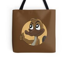 Platypus giving thumbs up cartoon Tote Bag