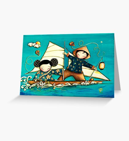 Maiden Voyage Greeting Card