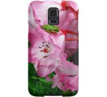 Tiny Red Eyed Tree frog  Samsung Galaxy Case/Skin