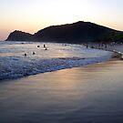 Praia - Litoral norte de SP-Cambury-Beach - Coastline north of SP-Cambury by Gilberto Grecco