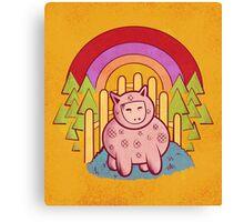 Pigsuit Canvas Print