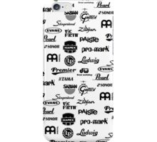 Percussion Logo Collage iPhone Case/Skin