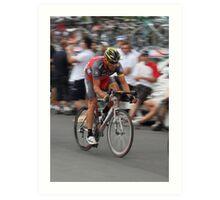 Tour Downunder - Lance Armstrong Art Print