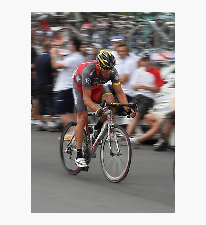 Tour Downunder - Lance Armstrong Photographic Print