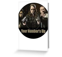 Your Number's Up - POI Greeting Card
