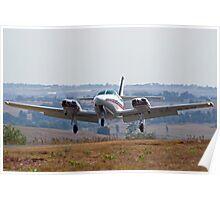 Cessna 303 Crusader Landing Poster