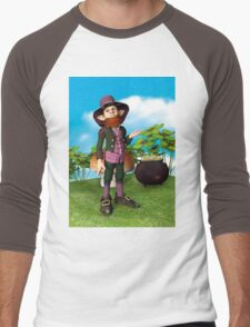 Leprechaun Men's Baseball ¾ T-Shirt