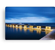 Merewether Ocean Baths at Night Canvas Print