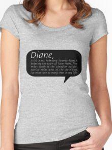 Diane, II Women's Fitted Scoop T-Shirt