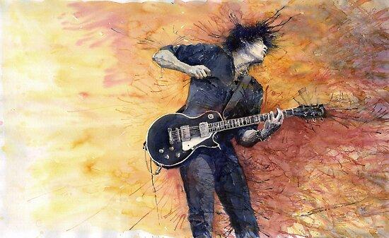 Jazz Rock Guitarist Stone Temple Pilots by Yuriy Shevchuk