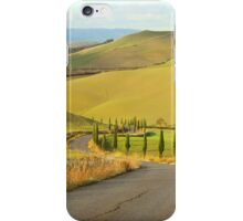 Tuscan Road iPhone Case/Skin