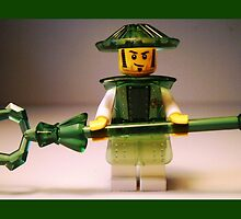 Ching Dynasty Chinese Warrior Custom Minifigure by Customize My Minifig