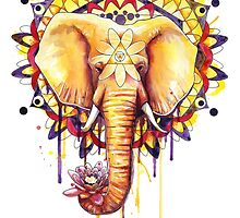 Elephant Mandala by SamNagel