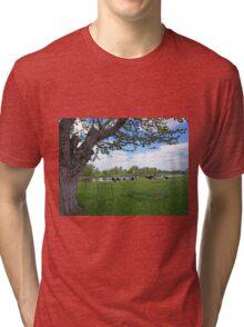 A true country scene Tri-blend T-Shirt
