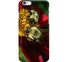 (Feeding on a flower) I'm falling through the universe again.. The love I feel as I fly endlessly through space.. iPhone Case/Skin