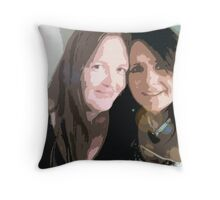 Someone To Share My Secrets Throw Pillow