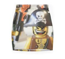 Pirate Captain Minifigure with Flame Torch Mini Skirt
