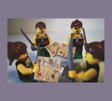 Custom Pirate Girl Minifigure with Treasure Map Kids Clothes